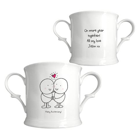 Chilli & Bubbles Anniversary Loving Cup | ShaneToddGifts.co.uk