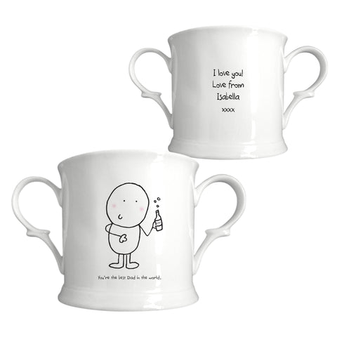 Chilli & Bubbles Best Dad Loving Cup | ShaneToddGifts.co.uk