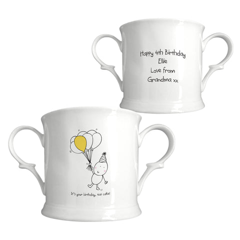 Chilli & Bubbles Birthday Loving Cup | ShaneToddGifts.co.uk