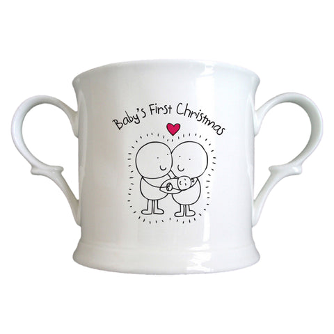 Chilli & Bubble's First Xmas Loving Cup | ShaneToddGifts.co.uk