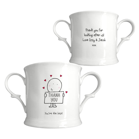Chilli & Bubbles Thank You Loving Cup | ShaneToddGifts.co.uk