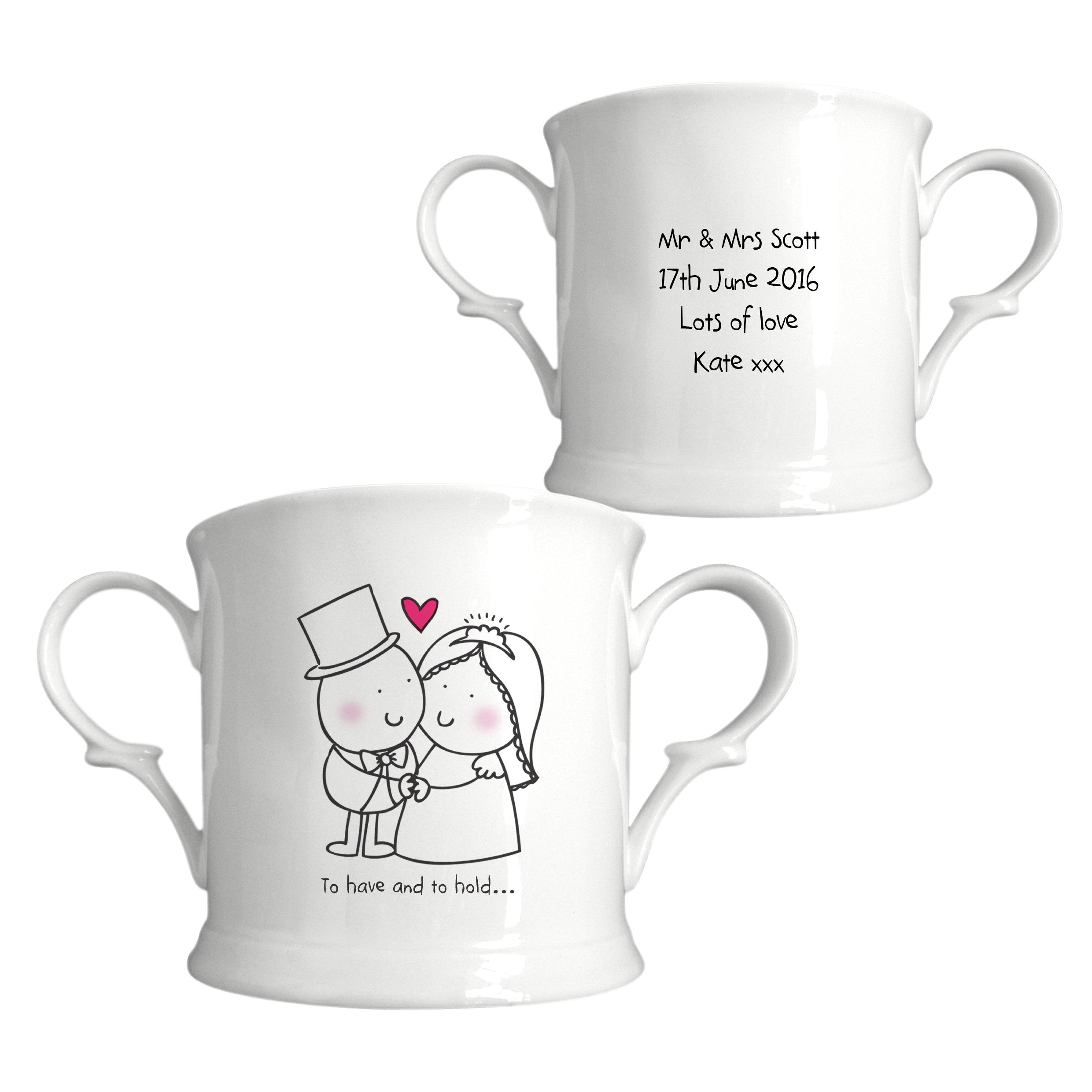 Chilli & Bubbles To Have & To Hold Loving Cup, Home & Garden by Low Cost Gifts