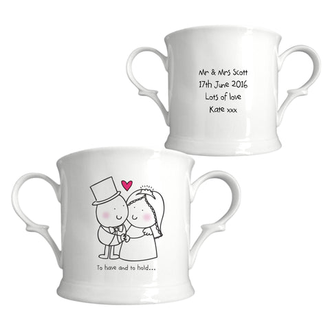 Chilli & Bubbles To Have & To Hold Loving Cup | ShaneToddGifts.co.uk