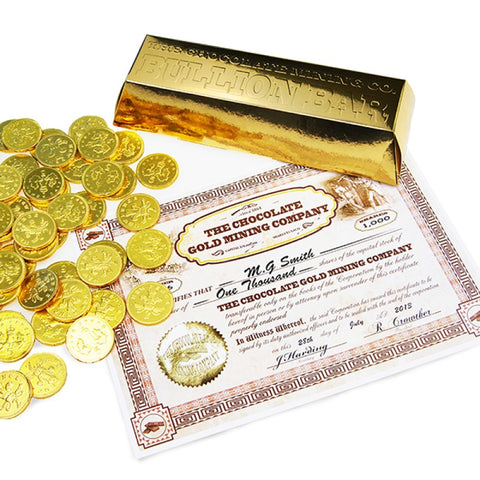Chocolate Coin Bullion Bar