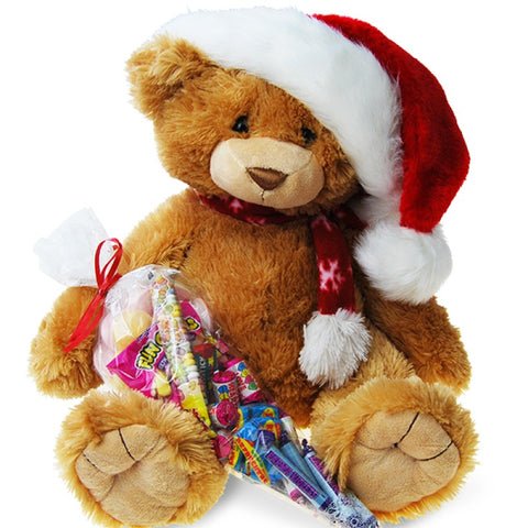 Christmas Sweetie Bear Brown
