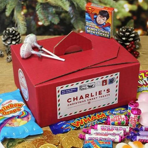 Personalised Christmas Tuck Box