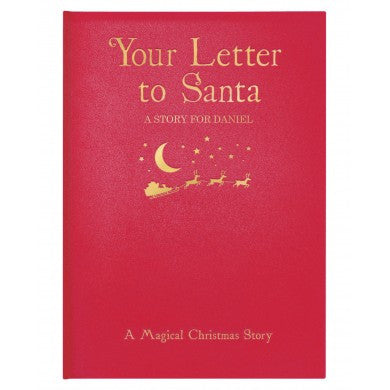 Your Letter to Santa Embossed Classic Hardback