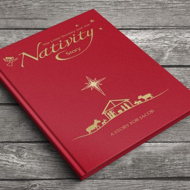 Nativity Story embossed classic hardcover | ShaneToddGifts.co.uk
