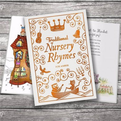 Traditional Nursery Rhymes Embossed Classic Hardcover