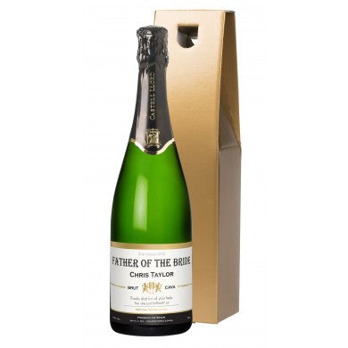buy Contemporary Wedding Cava in a Gold Gift Box