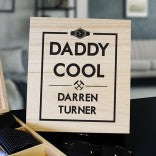 Daddy Cool Personalised Wooden Box