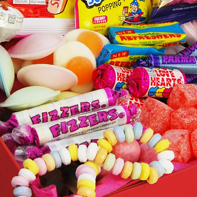 Personalised Deluxe Retro Sweet Box - Small, Sweets & Chocolate - Image 2
