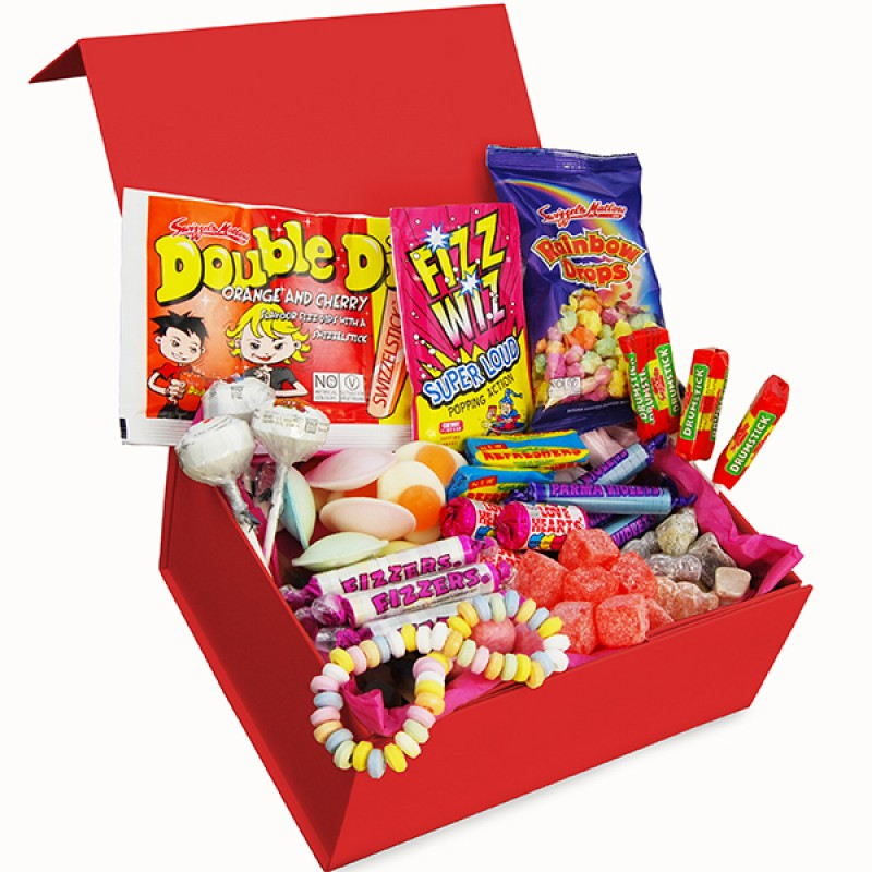 Personalised Deluxe Retro Sweet Box - Small, Sweets & Chocolate - Image 4