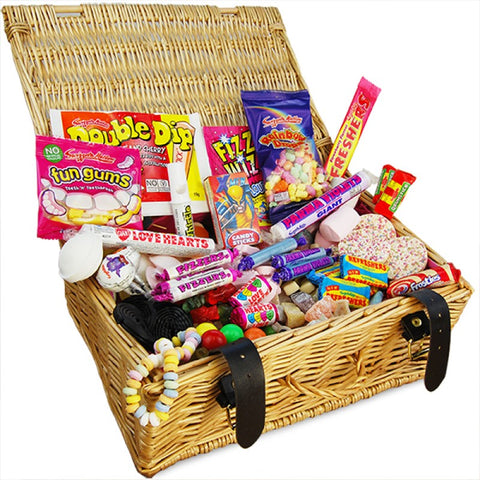 Deluxe Retro Sweet Hamper