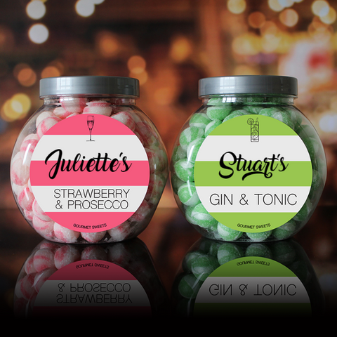 Prosecco / G&T Sweet Jar Set