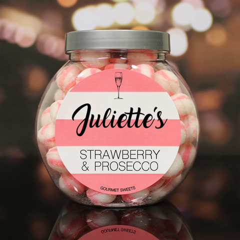 Strawberry & Prosecco Sweet Jar