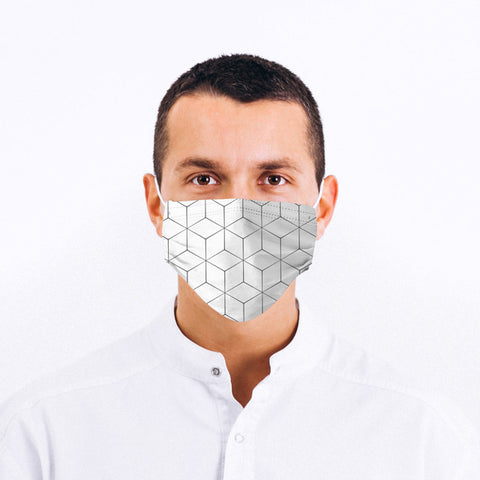 Geometric Pattern Face Mask