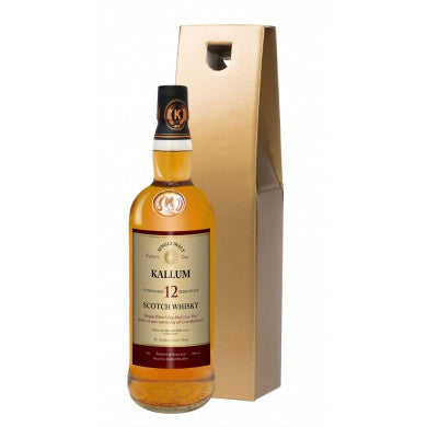 Father's Day 12 Year Old Malt Whisky in a Gold Gift box