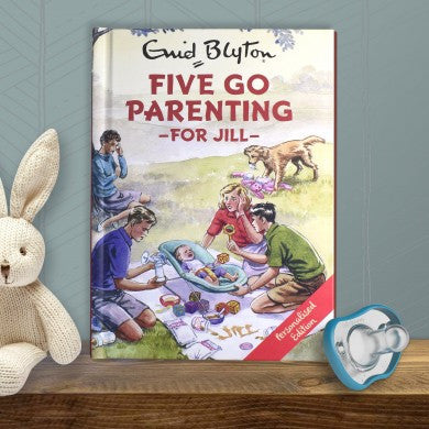 Personalised Five go Parenting -  Enid Blyton For Grown-Ups - Shane Todd Gifts UK