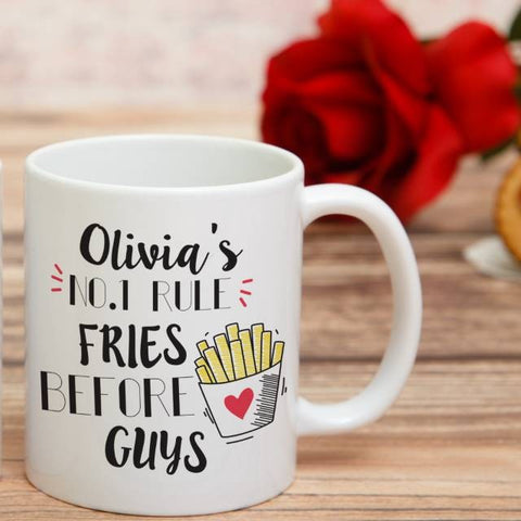 Fries Before Guys Mug | ShaneToddGifts.co.uk