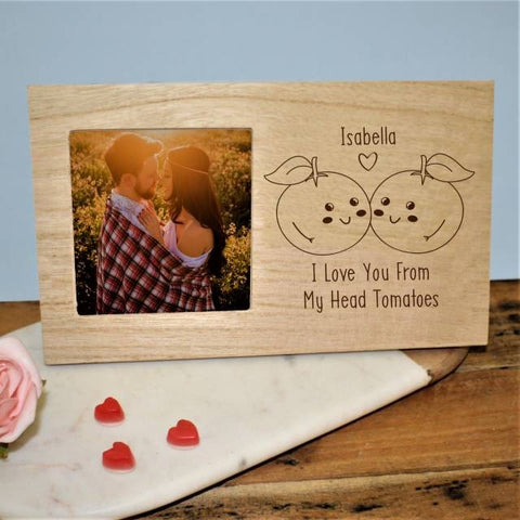 From My Head Tomatoes Panel Photo Frame | ShaneToddGifts.co.uk