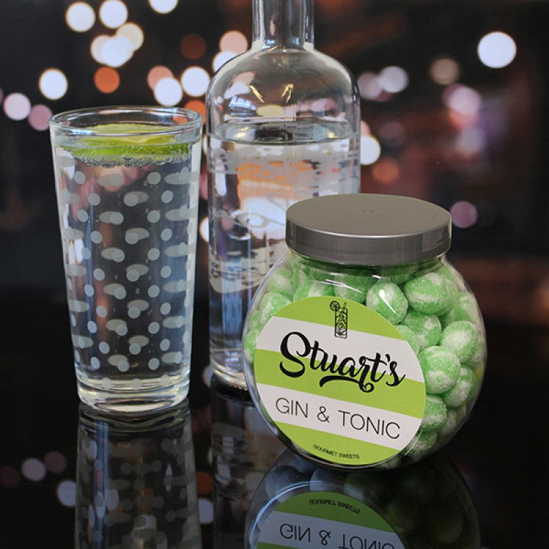 Gin & Tonic Sweet Jar