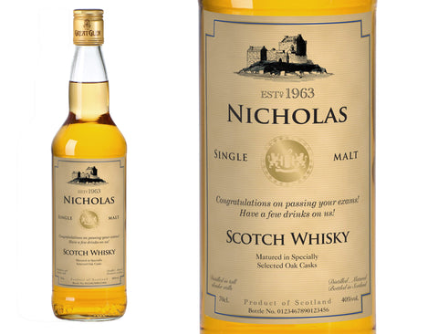 Generic Personalised Single Malt Whisky