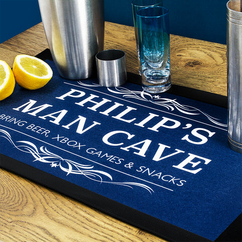 Gentlemen's Man Cave Bar Mat