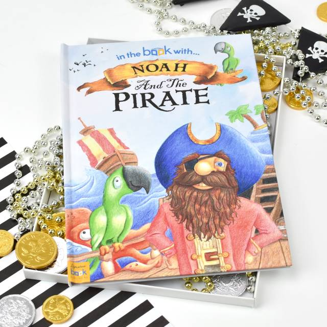 Personalised Pirate Story Book - Softback, Media by Low Cost Gifts