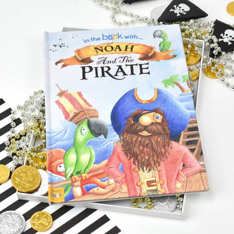 Personalised Pirate Story Book - Softback