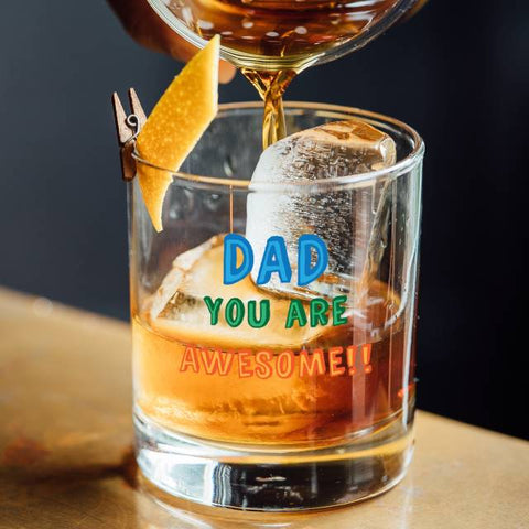 Personalised Dad You are...Glass Tumbler