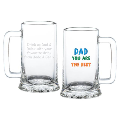 Personalised Dad You are...Stern Tankard | ShaneToddGifts.co.uk