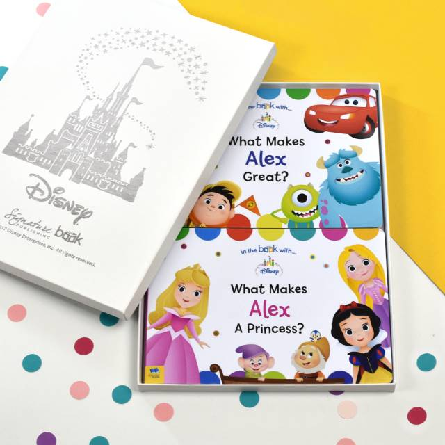 Personalised Dual Disney Board Book Set, Scrapbooking & Stamping Kits by Low Cost Gifts