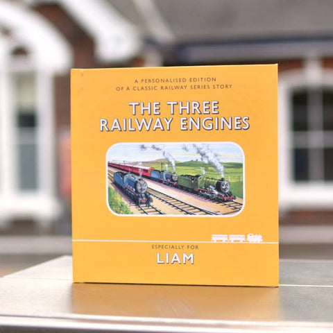 Personalised Thomas the Tank Engine Railway Series The Three Railway Engines Book