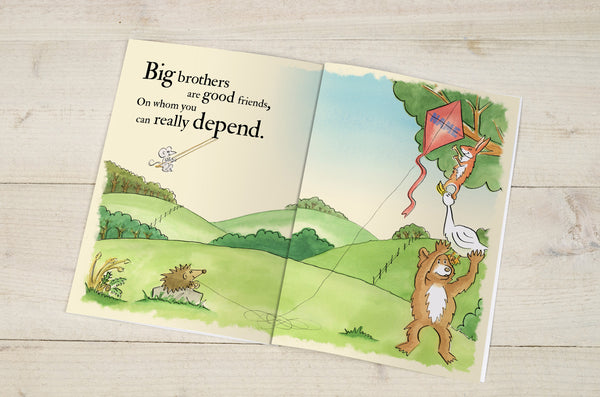 Big Brothers are Great Personalised Book
