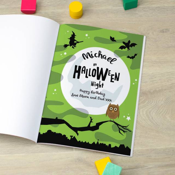 Personalised Favourites -  Halloween Book