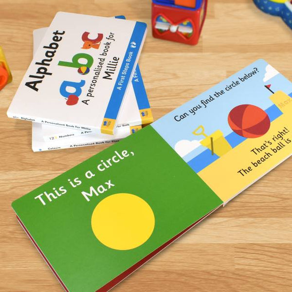 First Steps Shapes Board Book for Toddlers | Gifts24-7.co.uk