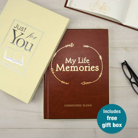 A Personalised Journal | Gifts24-7.co.uk