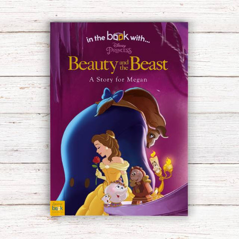 Personalised Beauty & the Beast - Softback | Gifts24-7.co.uk