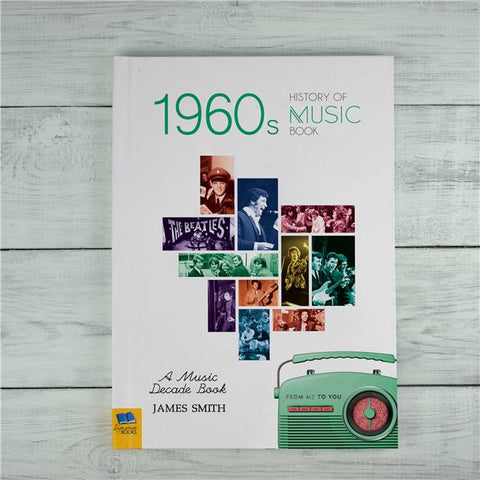 Personalised 1960s History Of Music