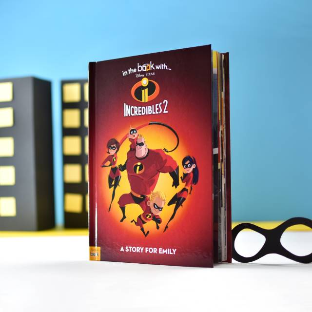 Personalised Incredibles 2 - Hardback, Media by Low Cost Gifts