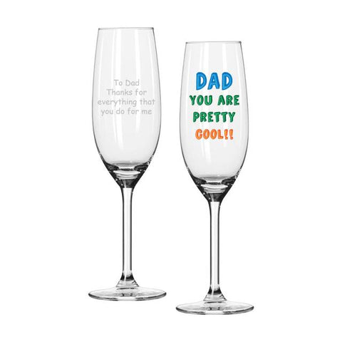 Personalised Dad You Are...Prosecco Glass