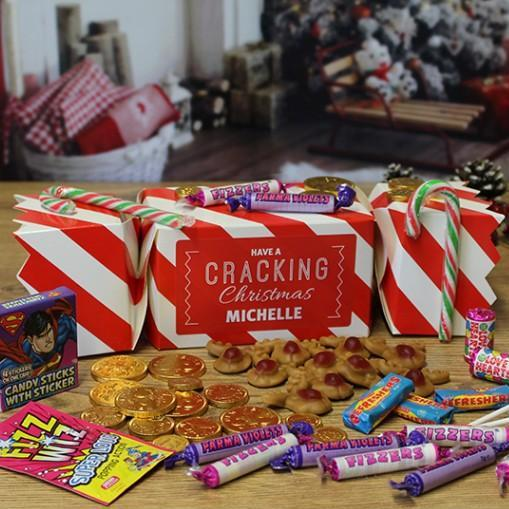 Giant Christmas Sweet Cracker, Food Items by Low Cost Gifts