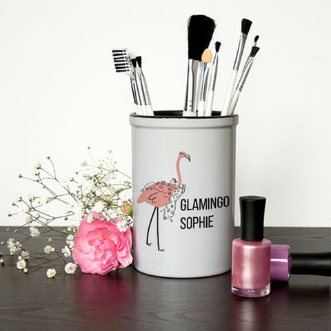 Ceramic Holders Glamingo Brush Holder