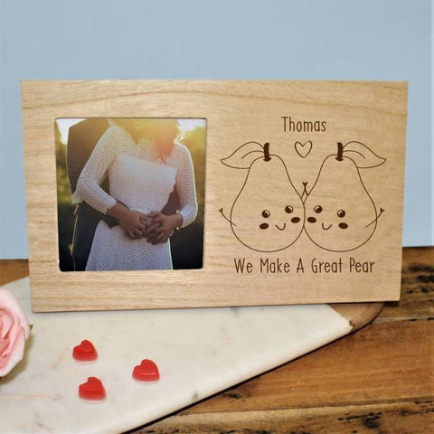 Great Pear Panel Photo Frame | ShaneToddGifts.co.uk