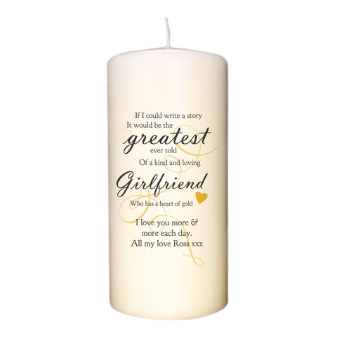Greatest story Candle
