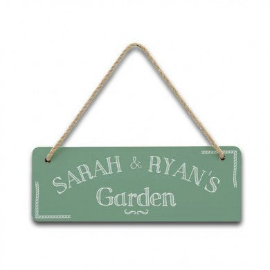 Hanging Garden Sign - Shane Todd Gifts UK