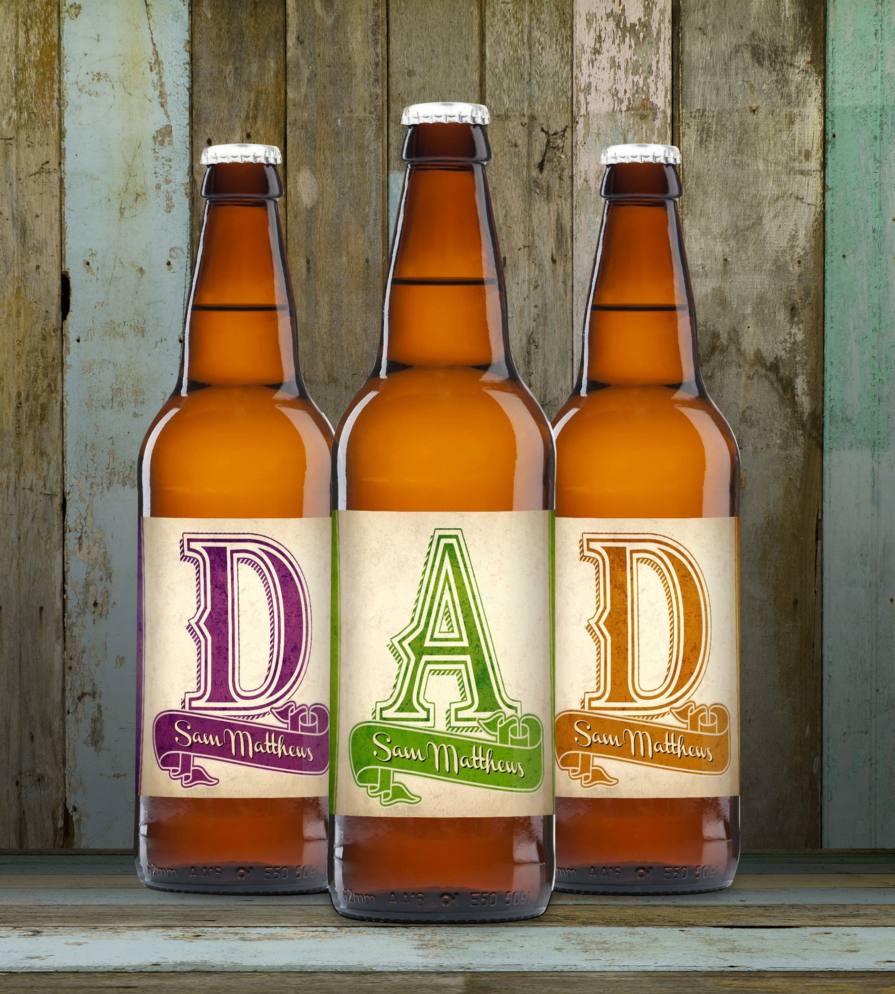 D-A-D Set of 3 Beers, Beer by Low Cost Gifts