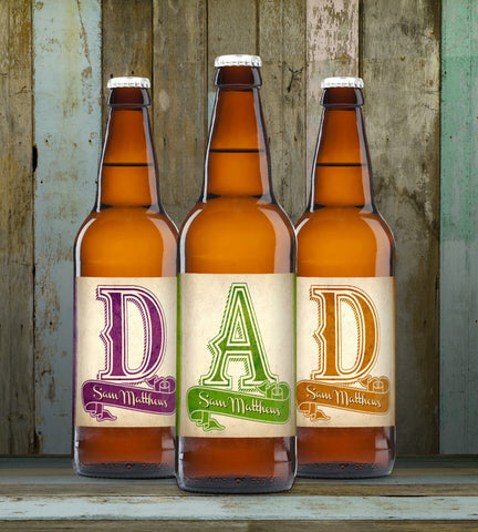 D-A-D Set of 3 Beers - Shane Todd Gifts UK