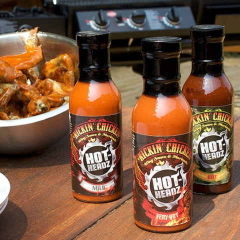 Hot-Headz Kickin' Chicken Gift Set
